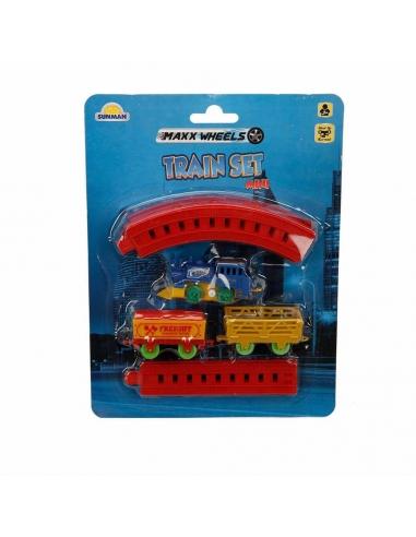 Sunman  Kurmalı Raylı Mini Tren Seti 11 Parça
