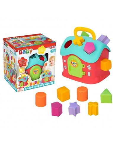 Fen Toys  Bul-Tak Ev Bebek Akıl Oyuncak Seti