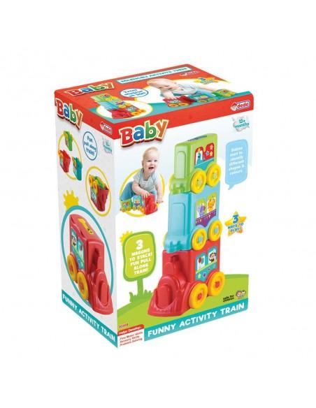 Fen Toys  Eğlenceli Aktivite Treni