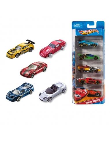 Mattel  Hot Wheels 5'li Araba Seti
