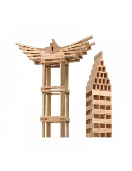 Redka /KumToys  Redka Redcity Ahşap Yapı Blokları