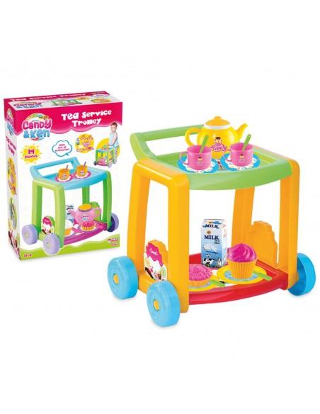 Fen Toys  Candy & Ken Çay Servis Arabası